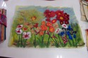 Needle Felting - Flowers of the Garden